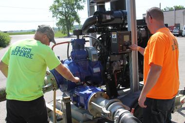 Water Pump Rental | Ohio Dewatering Pump | Diesel Pumps